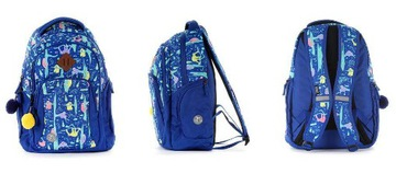 Leniwiec School Bathpack Blue New 10 ks