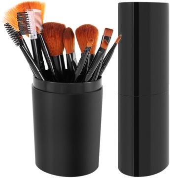 Súbor profesionálnych make-up kefy 12 kusov