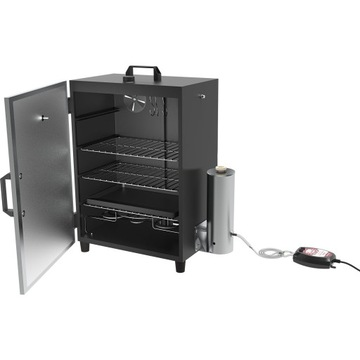 Elektrický Smokehhouse. Automatický generátor Dymo