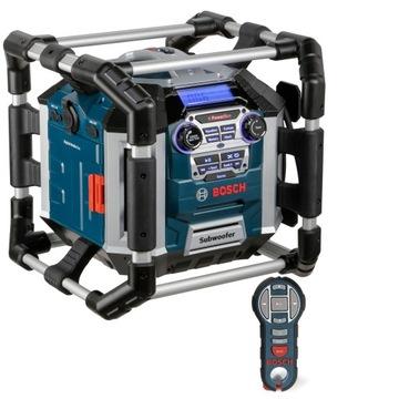 Diaľková nabíjačka rádia Bosch GML 50 na stavbe