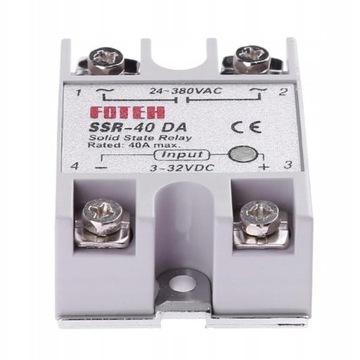 Semiconductor SSR Relay 40DA FOTEK 40A 380