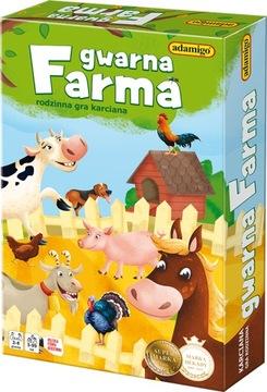Živá rodinná farma Adamigo 3+ kartová hra