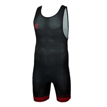 Trother Pusel Wrestling Black Armor Red M