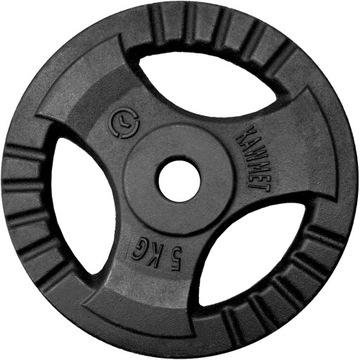 Liatinové zaťaženie 5 kg Disk doska volant
