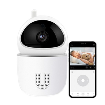 Elektronická Nanny IP Camera WiFi 360 ° Full HD