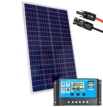 Solárna panel 300W Solárna batéria 15A Regulátor