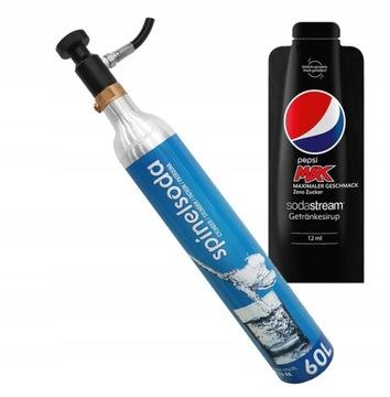 Prívod plynu Náhradný valec CO2 Sodastream Cylinder