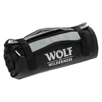 Vlk divočiny turistickej podložky pre psa