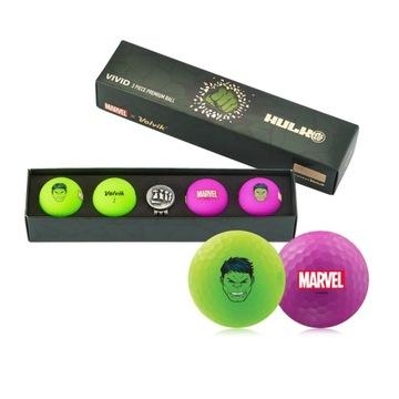 Volvik Vivid Marvel Hulk 4p + Ball Marker