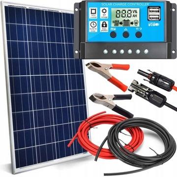 Solárny panel 100W 12V Solárny regulátor batérie