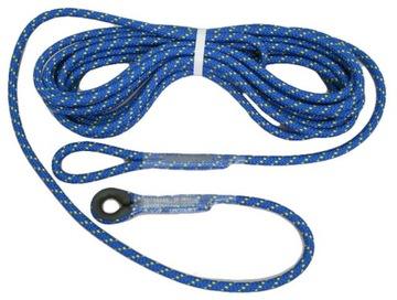 Lanové ukotvenie káblového poistenia 10 m lezenie