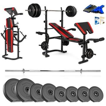 Xylo Gym 62 kg Bench Set + GRYF + LOAD