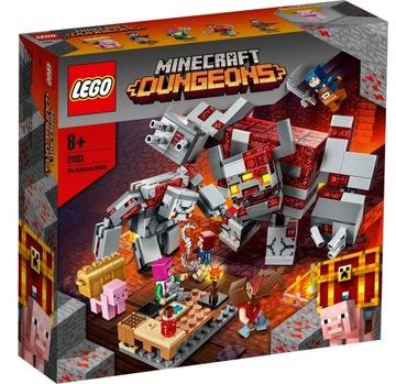 Stavebnice LEGO® MINECRAFT Battle Redstone 21163