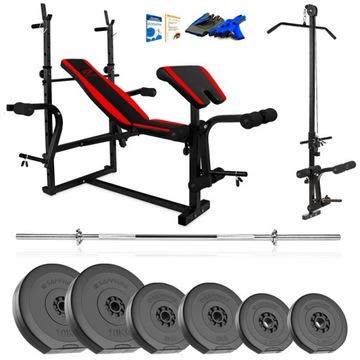 Xylo Gym 71 kg Bench Set + Gryfy + LOAD