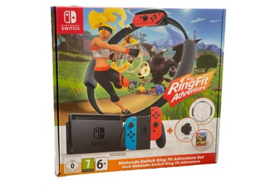 Nintendo Switch Joy-Con V2 + Ring Fit Adventure