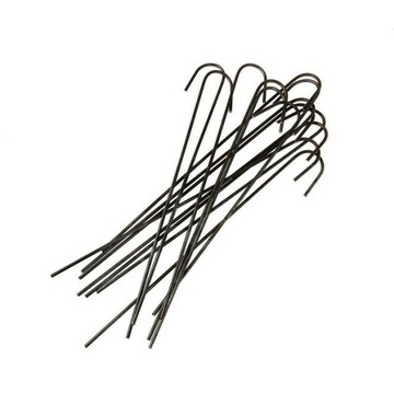 Silné kovové špendlíky Špendlíky pre 100ks agrotextílie