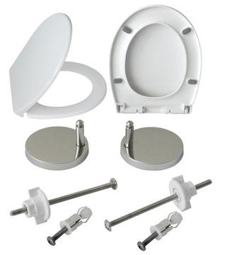 WC sedátko, pomaly zatvárateľné CERSANIT CIRCLE univerzálne