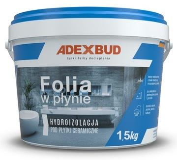 Kvapalinová fólia pre kúpeľňu, op. 1,5 kg