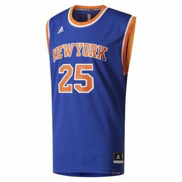 NBA New York Knicks Adidas Derrick Rose25 T-Shirt
