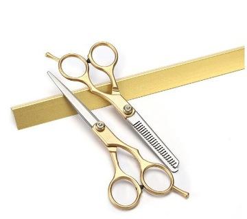 Tieňovacie nosidlá + kadernícke nožnice