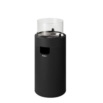 Plynový krb Enders Nova LED M čierny