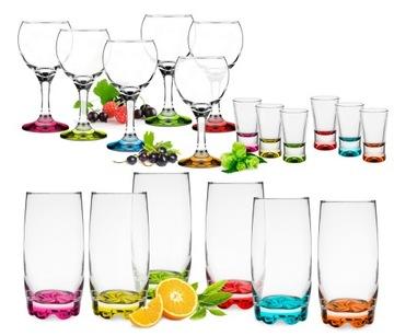 Sada pohárov mix farieb + poháre ZADARMO