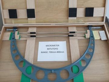 Mixatoyo 700-800mm 105-105 Vonkajší mikrometer
