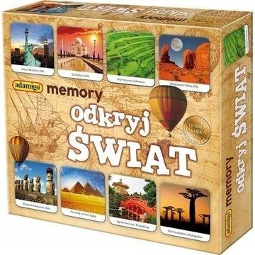MEMORY Preskúmajte svetovú pamätnú hru ADAMIGO