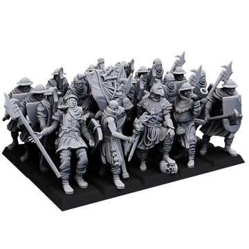 Muži na Arms / Spearman / Swordman - Bretonnia