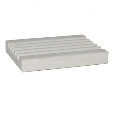 Miska na mydlo Tadé z bieleho mramoru 12x8,5xh1,7cm