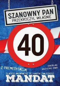 Vtipné 40. narodeniny pre muža J19