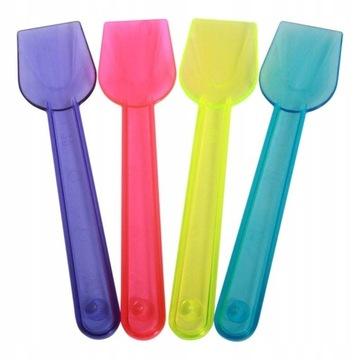 Spachtové lyžičky pre zmrzlinu Neon Plast