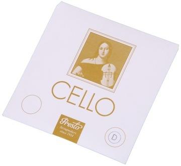Struna D do Cello 4/4 Presto - Single!
