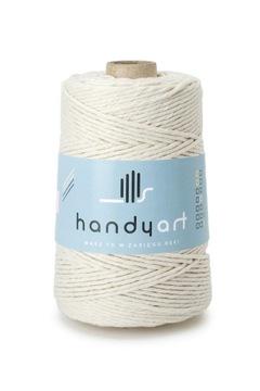 Makramérová šnúra z prírodnej bavlny 3mm 200m