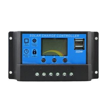 Solárny nabíjací regulátor 60A LCD + USB na paneli P