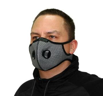ANTIESMOGY MASK S FILTEROVÝMI MASKOM PM 2.5 Masky
