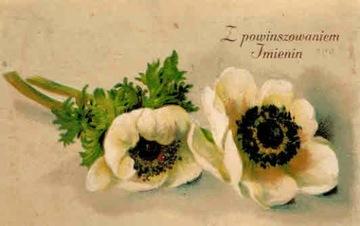 Pre-vojnová pohľadnica s menom