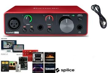 FOCUSRITE SCARLETT SOLO 3GEN + ABLETON + PRO nástroje!