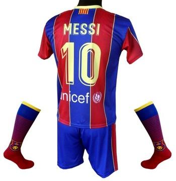 Nastaviť futbalové oblečenie Messi 2020/2021: 128 cm