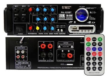Zosilňovač stereo Bluet MP3 FM pilotný zosilňovač