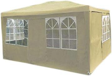Záhradný pavilón stan 3x4m + 8 steny