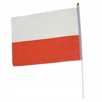 Zástava krajiny Poľsko Materiály Poľský banting 30cm