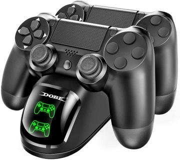 Nabíjanie doku Nabíjanie 2 x podložka PS4