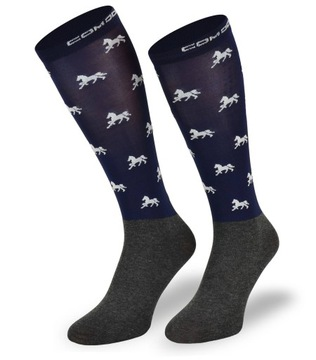 Ridingové ponožky pre jazdu na koni