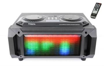 Boombox LED USB SD BT FM 200W IBIZA SPLOX150