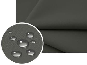Vodotesný materiál PVC Oxford 15 Farby Záclony