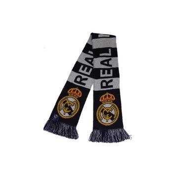 Real Madrid Scarf Shawl pletený pre fanúšik