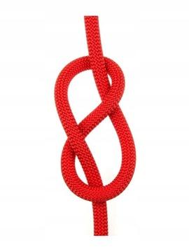 Statické lano Fortis Static 11mm červená