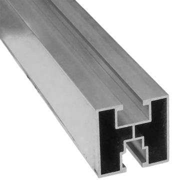 Montážny profil PV Hliníková koľajnica 40x40 2070mm