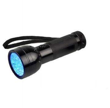 Ultrafialový horák UV 51 LED Banknote Tester